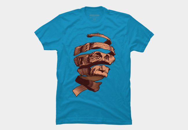 E=MC Escher Men's T-Shirt