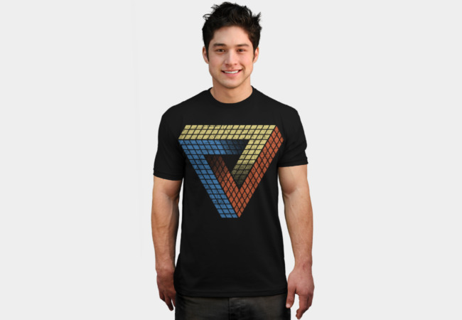 Penrose Puzzle T-Shirt - Design By Humans
