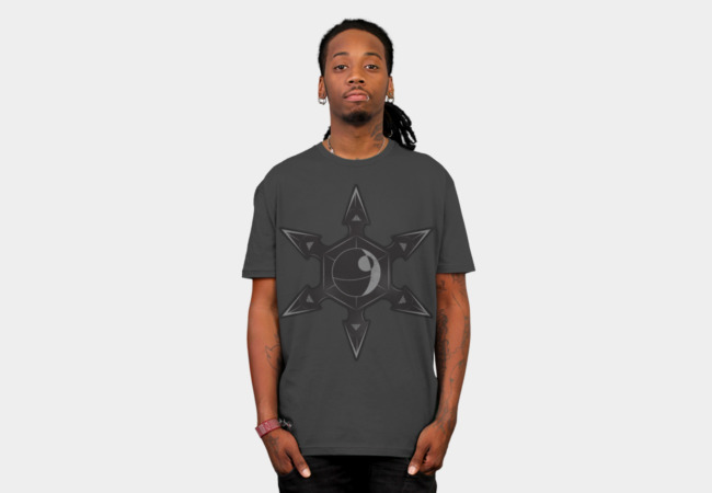 Imperial Throwing Star T-Shirt - Design By Humans