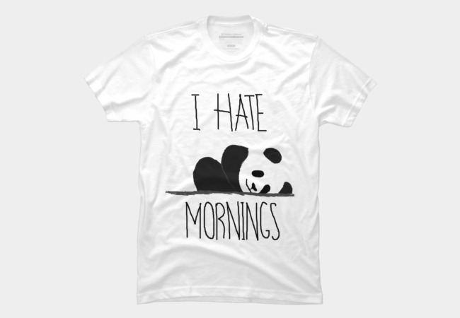 I hate mornings Men's T-Shirt