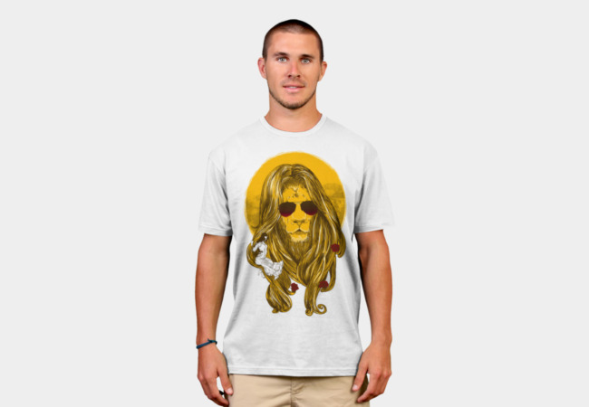 The Beauty and The Lion T-Shirt - Design By Humans