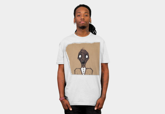 Classy Zombie T-Shirt - Design By Humans