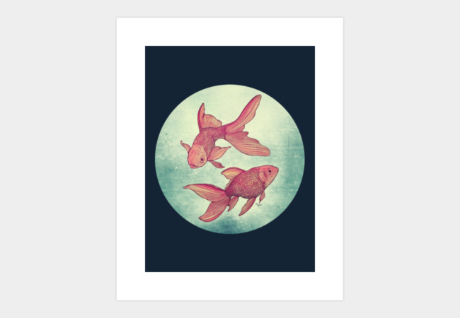 Goldfishes Art Print - Design By Humans