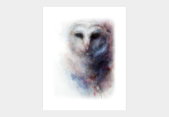 Hibou Art Print - Design By Humans