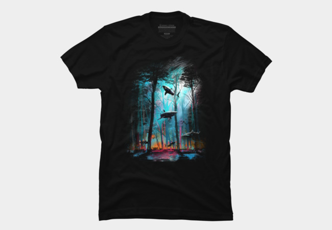 Shark Forest Men's T-Shirt