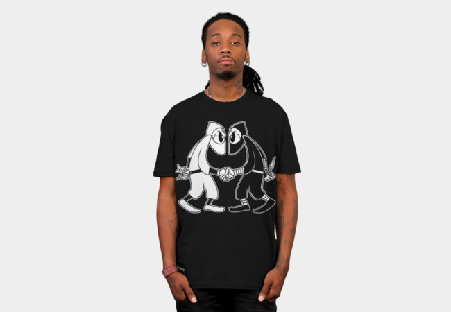 Ninja VS Ninja T-Shirt - Design By Humans