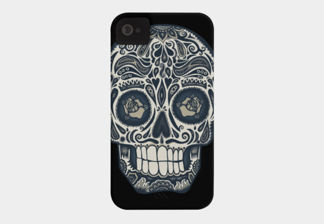 Calavera IV Phone Case - Design By Humans