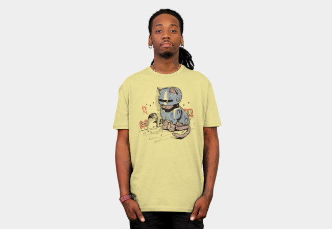 RoboCat T-Shirt - Design By Humans