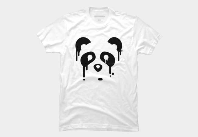 Panda Drips Men's T-Shirt