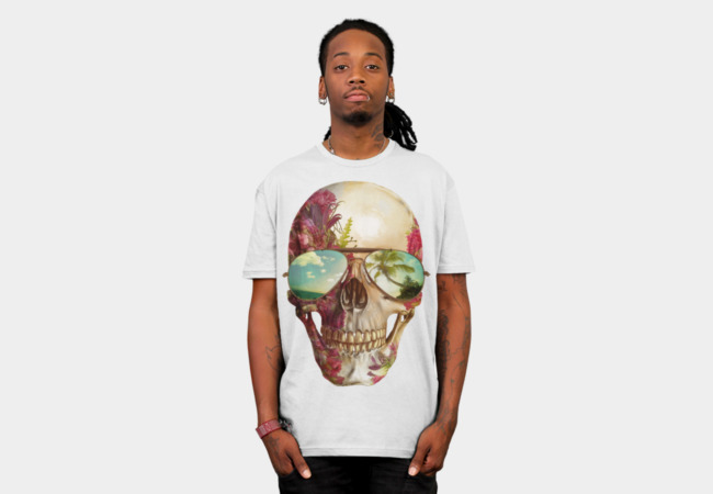 Summer Skully T-Shirt - Design By Humans