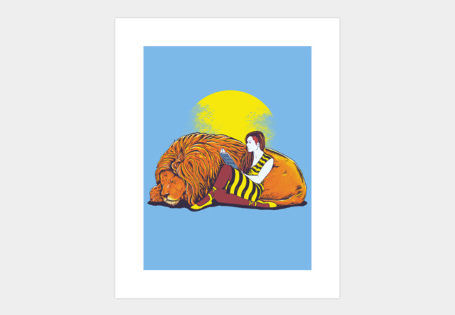 Bedtime Stories Art Print - Design By Humans