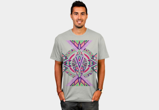 Abstract Journey T-Shirt - Design By Humans