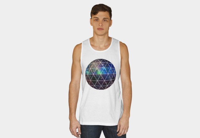 Space Geodesic Tank Top - Design By Humans