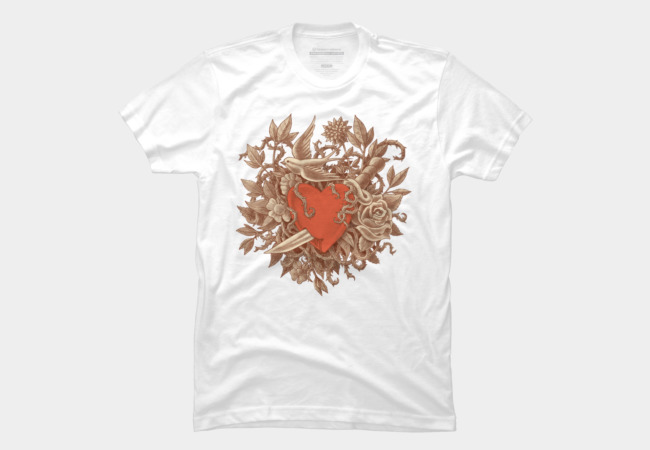Heart of Thorns Men's T-Shirt