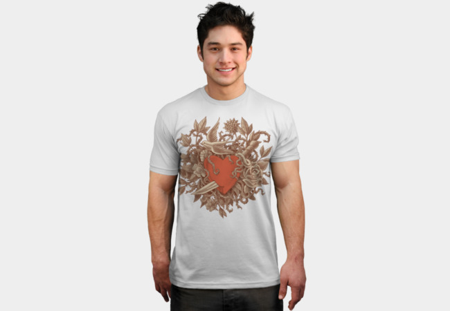 Heart of Thorns T-Shirt - Design By Humans