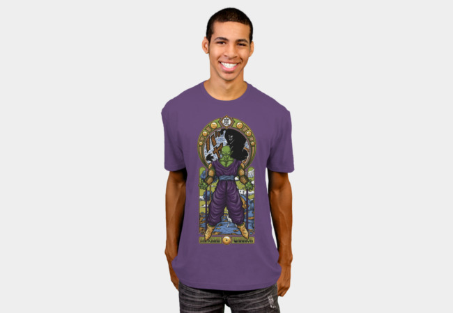 Namekian Warrior T-Shirt - Design By Humans