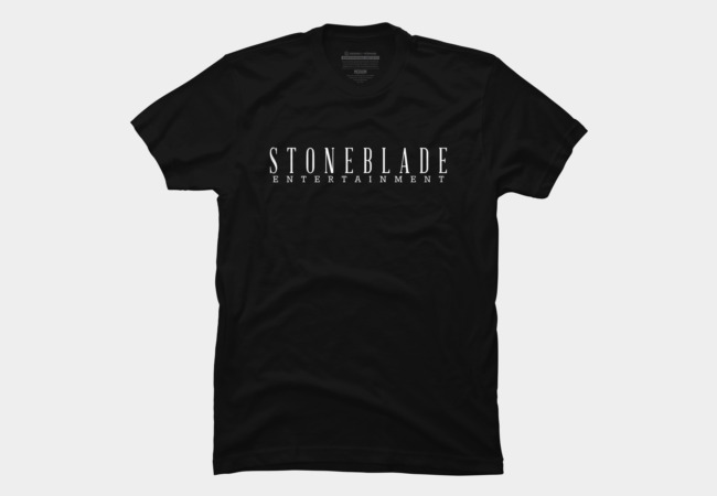 Stone Blade Entertainment Logotype Men's T-Shirt