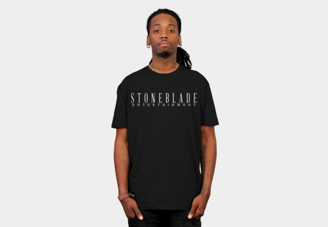 Stone Blade Entertainment Logotype T-Shirt - Design By Humans