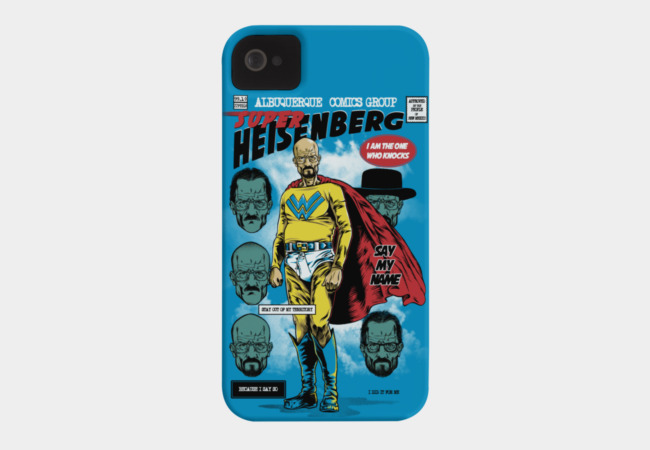 Super Heisenberg Phone Case - Design By Humans