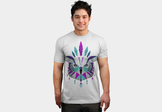 owl king T-Shirt - Design By Humans
