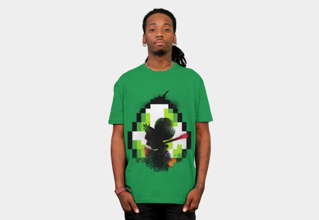 Green Lizard T-Shirt - Design By Humans