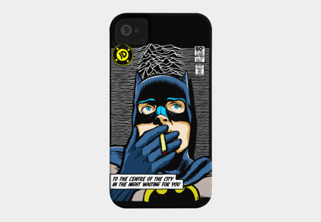 Post-Punk Comics | Shadowplay Phone Case - Design By Humans