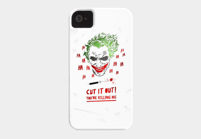 Cut It Out - Joker Phone Case - Design By Humans