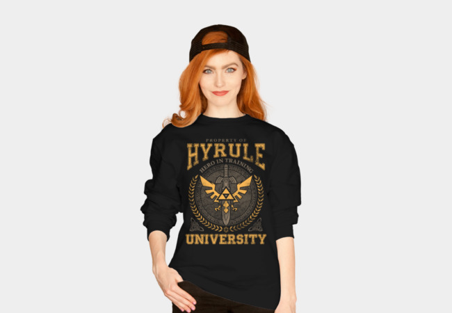 Hyrule University Sweatshirt - Design By Humans