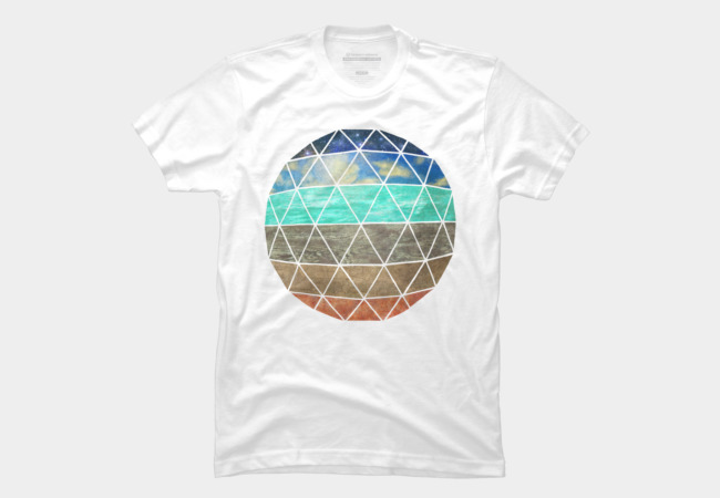 Strata Geodesic Men's T-Shirt
