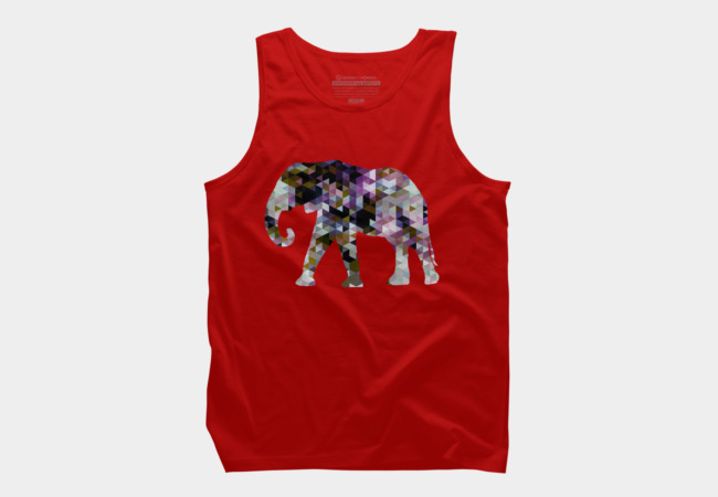 Elephant [Triangulated Series] Men's Tank Top