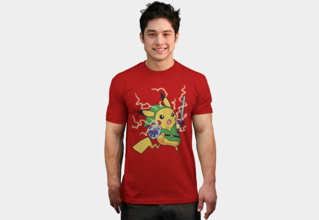 Linkachu T-Shirt - Design By Humans