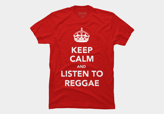 Keep Calm And Listen To Reggae Men's T-Shirt