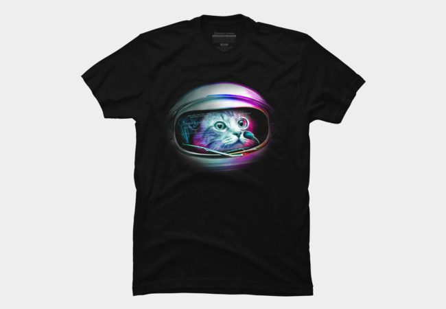 CYBORG CAT Men's T-Shirt