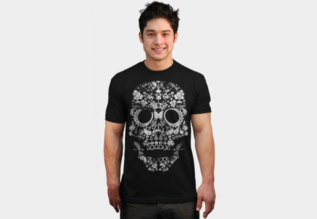 Day of the Dead Skull T-Shirt - Design By Humans