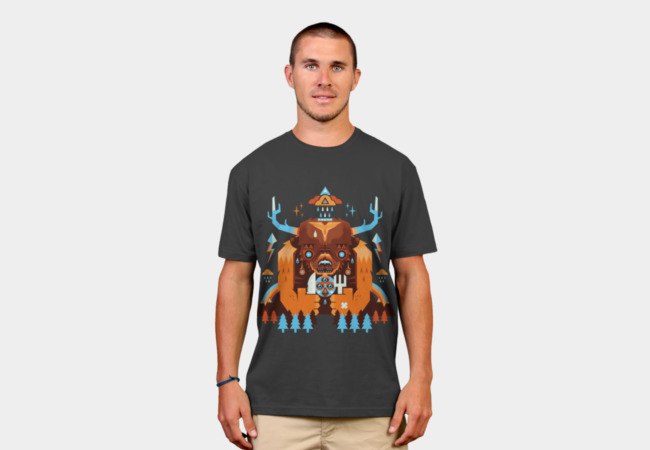 Giant Spirit is Hungry T-Shirt - Design By Humans