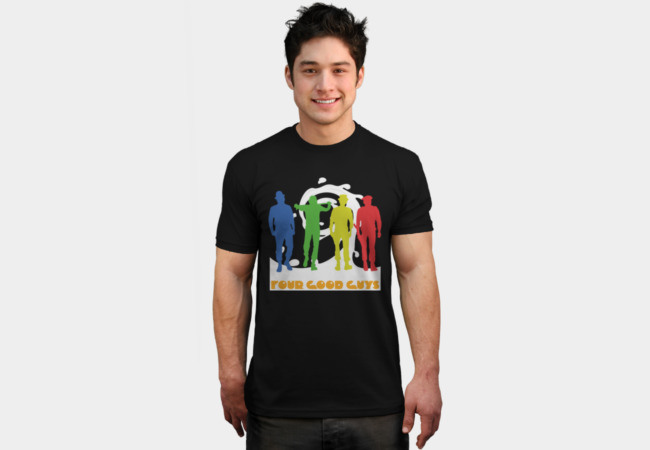 Four Good Guys T-Shirt - Design By Humans