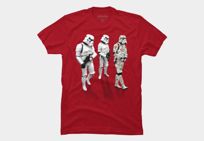 Stormtrooper Trendy Camo Suit Men's T-Shirt