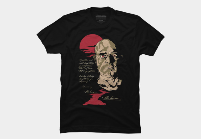 The horror.... Men's T-Shirt