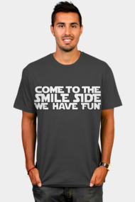 Come to the Smileside (white)
