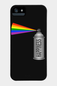 Happiness Spray Can Rainbow