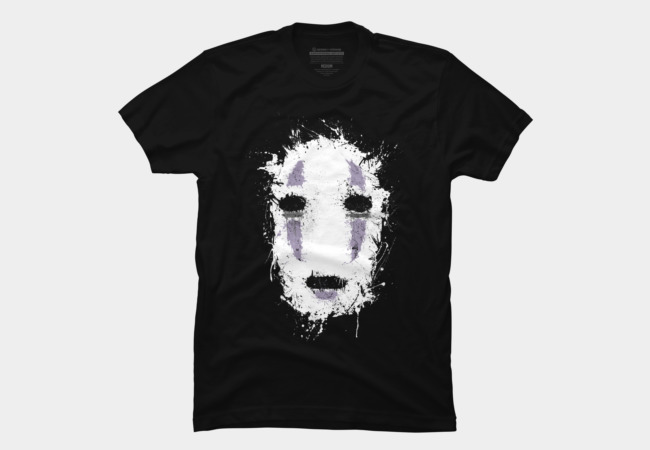 Ink No Face Men's T-Shirt