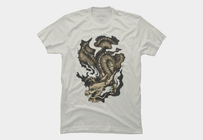 Golden Dragon Men's T-Shirt