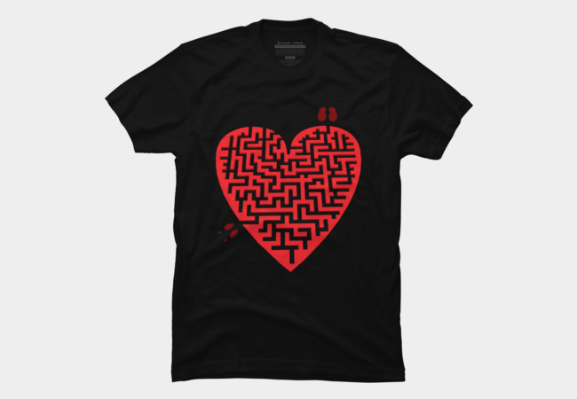 Love Maze Men's T-Shirt