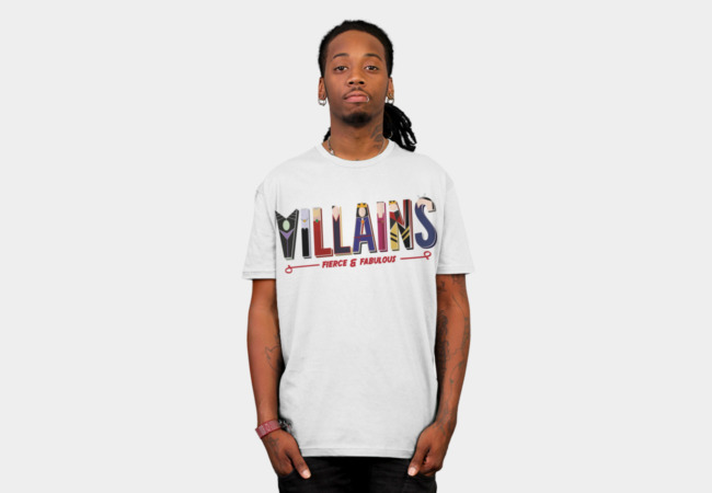 Villains T-Shirt - Design By Humans