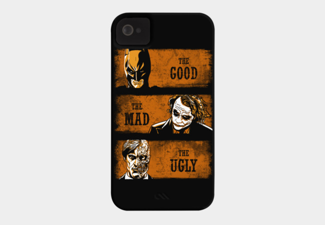 The Good, the Mad and the Ugly Phone Case - Design By Humans