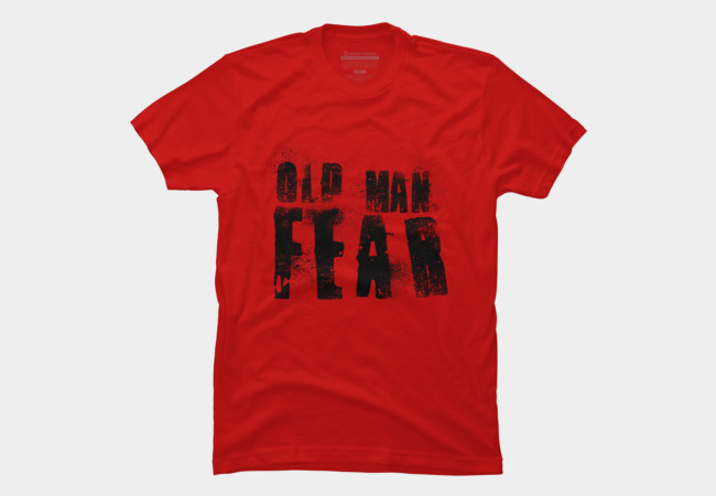 Old Man Fear (Dark) Men's T-Shirt