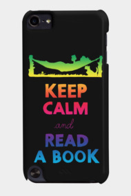 Keep Calm And Read A Book (Rainbow)