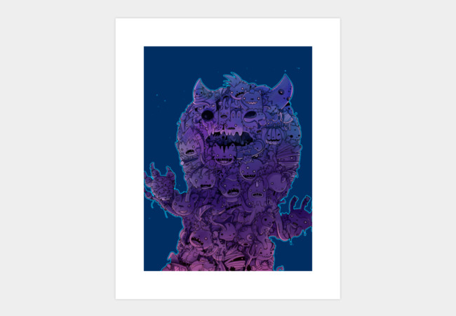 Ultimate midnight monster! Art Print - Design By Humans