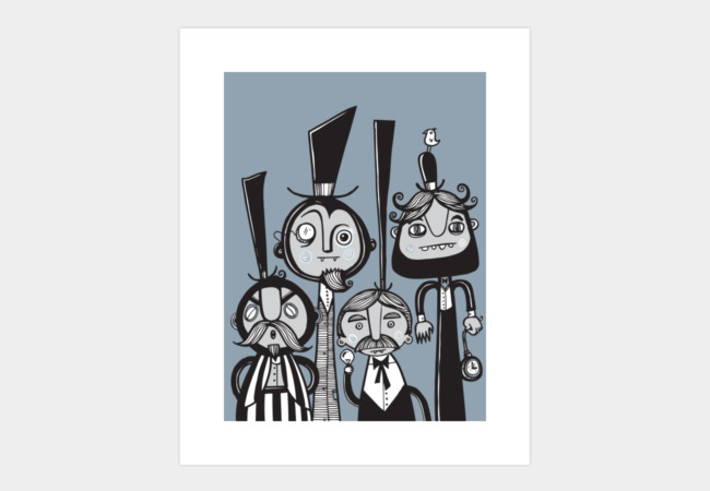 The Gents Art Print - Design By Humans