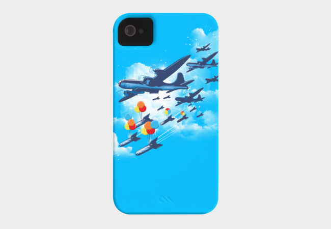 Color Bombers Phone Case - Design By Humans